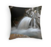 Waterfall In Way Way Forest NSW Throw Pillow