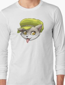 Cat with a Hat Long Sleeve T-Shirt