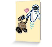 The Star Crossed Lovers Greeting Card