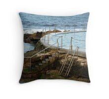 Coogee Beach Sydney Throw Pillow