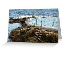 Coogee Beach Sydney Greeting Card
