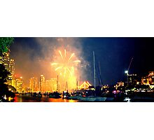 colorful firework Photographic Print