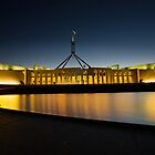 Parliament House Canberra by Sam Ilic