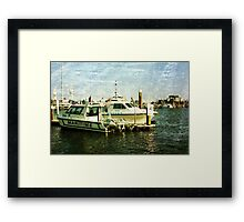 Water Police Framed Print