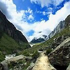 Path to heaven Satopantha trek by RajeevKashyap