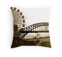 Old Sydney Town Throw Pillow
