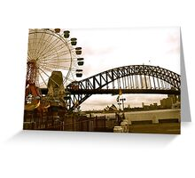 Old Sydney Town Greeting Card