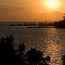 Sunset over Darwin by Mark Elshout