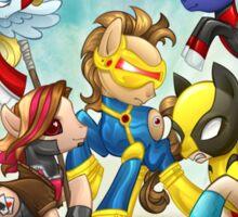 My Little Pony X-Men Sticker