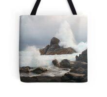 Angry Seas Tote Bag