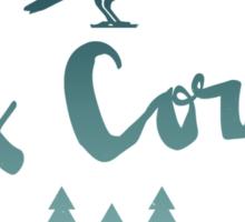 rex corvus Sticker