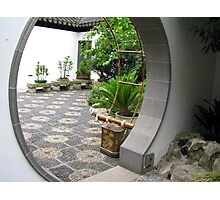 Moon Gate Photographic Print