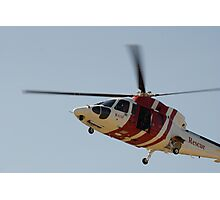RAAF Rescue Helicopter Photographic Print