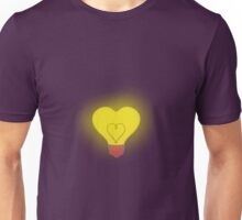 Bright heart belly badge Unisex T-Shirt
