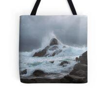 Angry Seas II Tote Bag