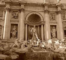 Trevi Fountain, Rome by Sanchita  Mukherjee
