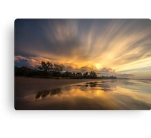 Fairy Floss Sky Metal Print