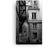 Rue des Barres Canvas Print