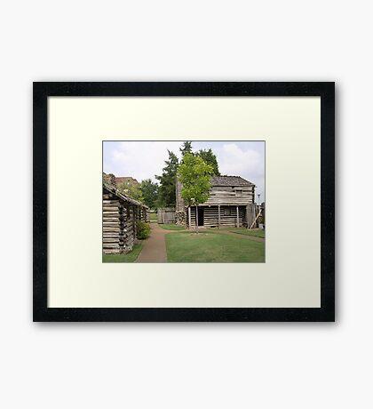 Fort Nashborough Framed Print