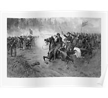 Union Cavalry Charge -- Civil War Poster