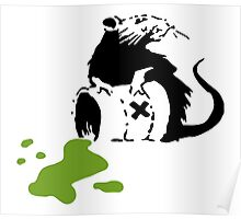 Banksy Toxic Rat Poster