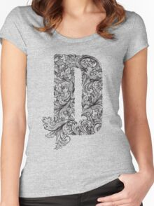 D Women's Fitted Scoop T-Shirt