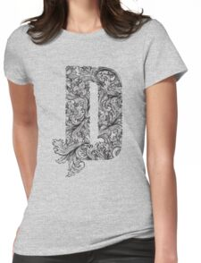 D Womens Fitted T-Shirt