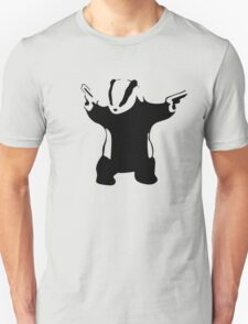 Banksy Badger Unisex T-Shirt