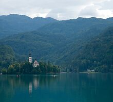 Bled Lake, Slovenia by Ian Middleton