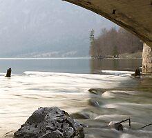 Bohinj Lake, Slovenia by Ian Middleton