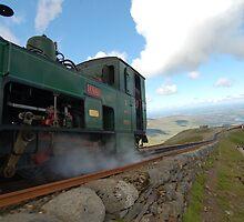 Mount Snowdon Railway by speedygonzales