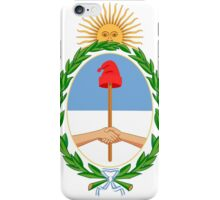 Coat of Arms of the Argentine Republic iPhone Case/Skin