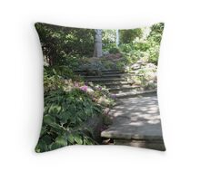 A September Meander Throw Pillow
