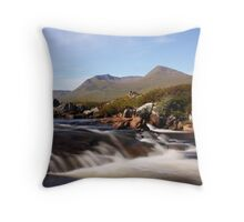 Black Mount,Rannoch Moor, Throw Pillow