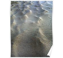 Sand Waves Poster