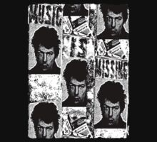 Music is Missing: Sid Vicious T-Shirt