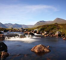 Black Mount,Rannoch Moor. by John Cameron