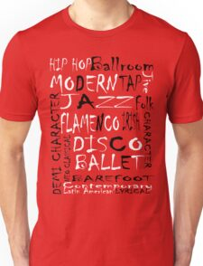 Dance Graffiti Unisex T-Shirt