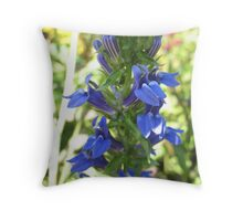 Art-Deco Flora Throw Pillow
