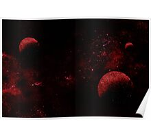 Red Planets Poster