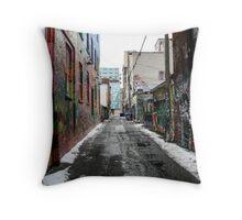 Graffiti Alley Toronto 2 Throw Pillow