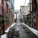 Graffiti Alley Toronto 2 by Jason Dymock Photography