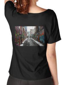 Graffiti Alley Toronto 2 Women's Relaxed Fit T-Shirt