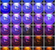 Colored Globes by mrthink