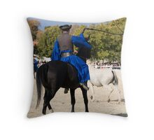 Lipica open day, Slovenia Throw Pillow