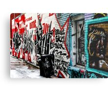 Graffiti Alley Toronto Metal Print
