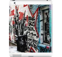 Graffiti Alley Toronto iPad Case/Skin