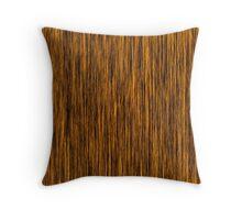 Wood fiber Throw Pillow