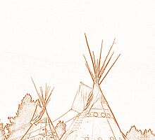 Tipi graphic by WHOOPS