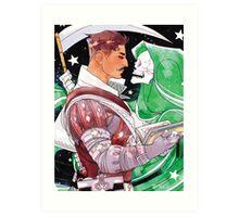 Dorian & Reaper Art Print